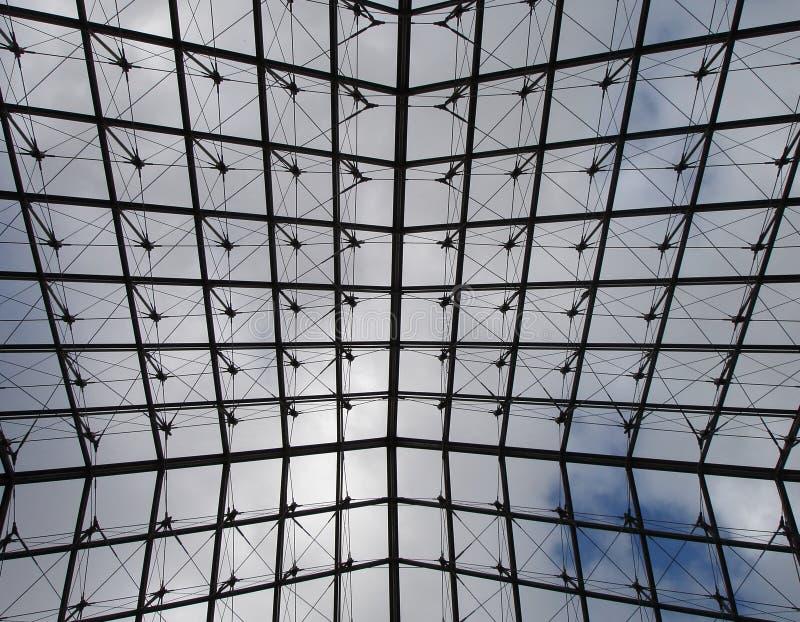 天窗piramid 免版税库存照片