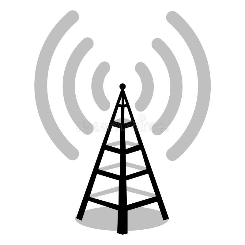 天线收音机 皇族释放例证