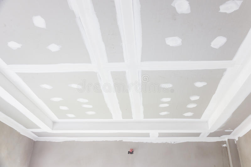 天花板石膏板 库存照片