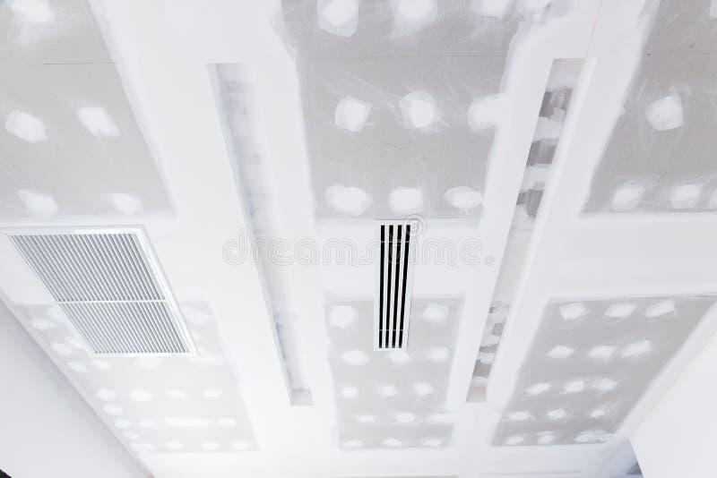 天花板石膏板 免版税库存照片