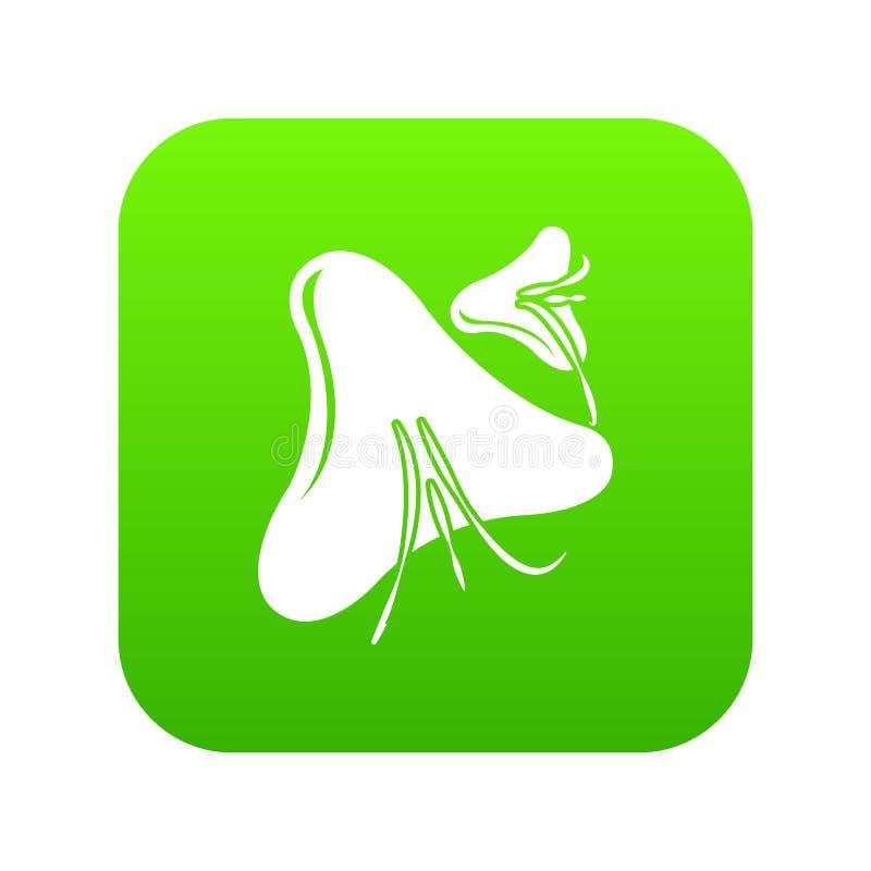 天花病毒象绿色传染媒介 皇族释放例证