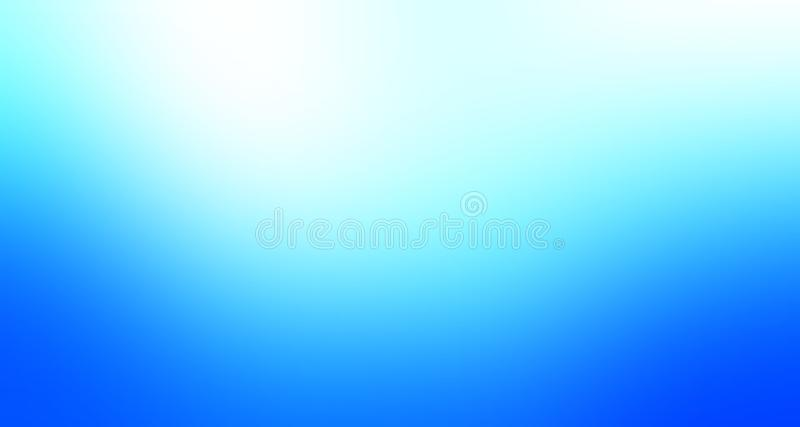 天蓝色和白色淡色被遮蔽的迷离背景墙纸 向量例证