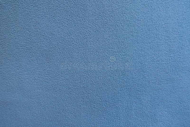 天蓝色羊毛织品纹理  图库摄影