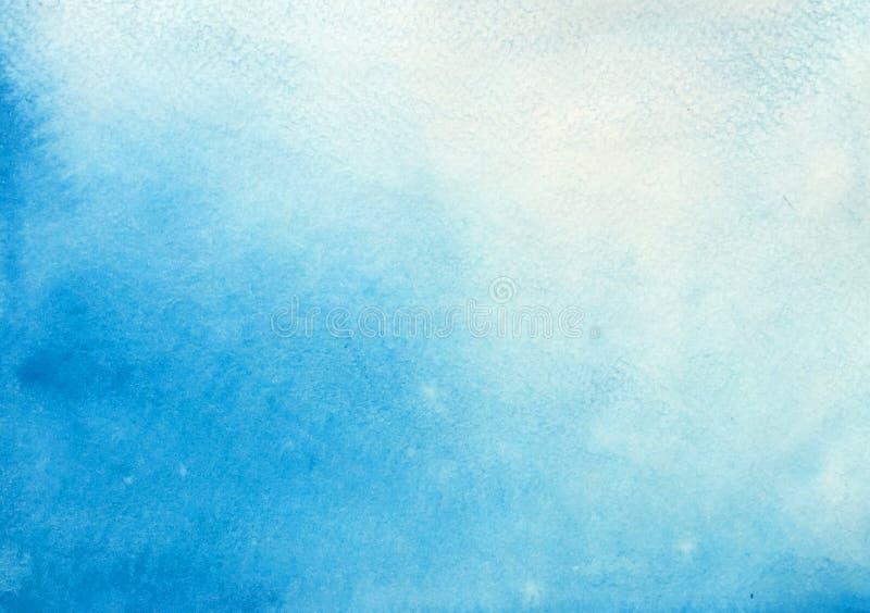 天蓝色背景 向量例证
