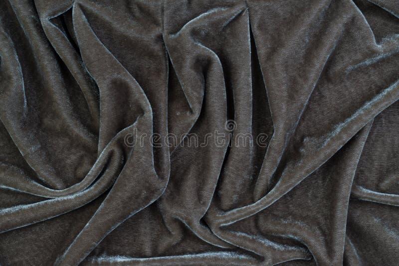 天鹅绒织品的纹理 免版税图库摄影