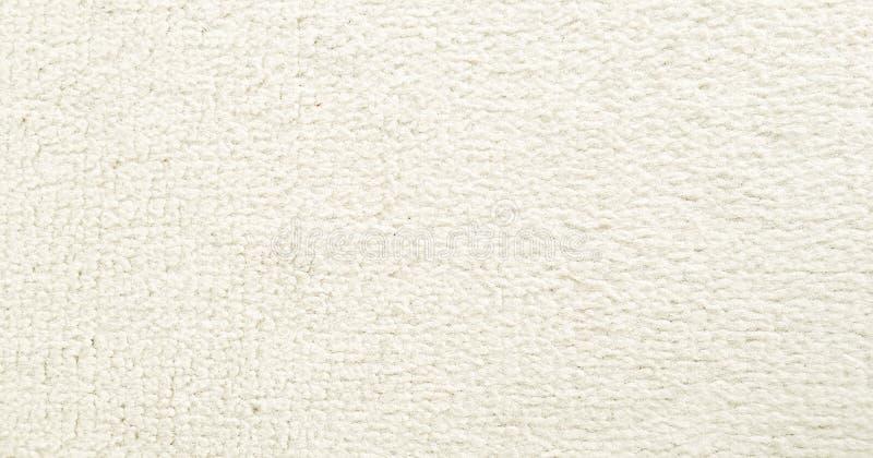 天鹅绒织品 老白色纺织品纹理背景 有机织品背景 白色天然纤维纹理 库存图片
