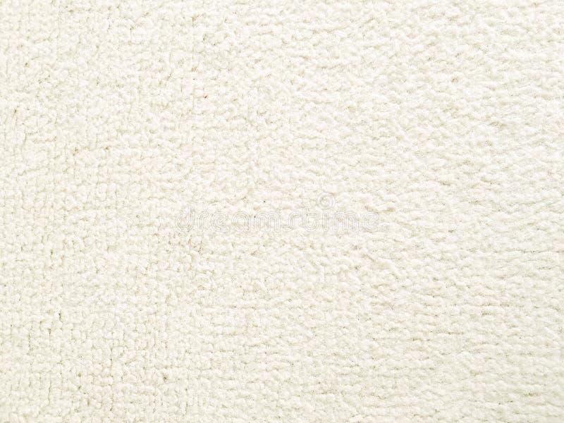 天鹅绒织品 老白色纺织品纹理背景 有机织品背景 白色天然纤维纹理 免版税库存照片