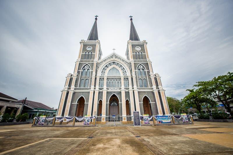 天主教会泰国 免版税库存照片
