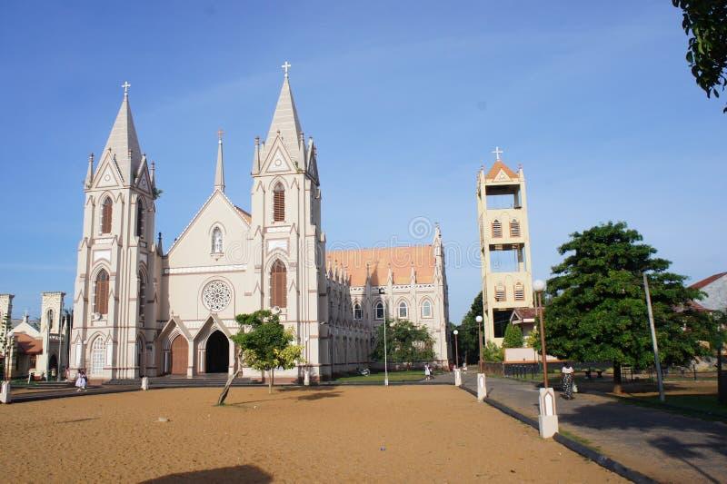 天主教在Negombo 免版税库存图片