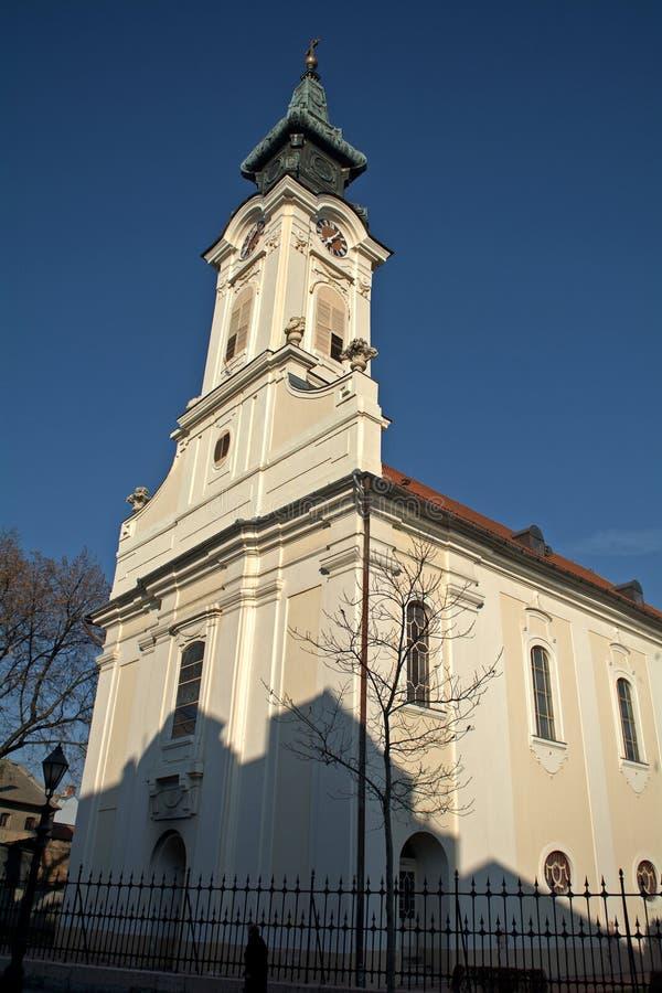 天主教堂,松博尔,塞尔维亚 免版税库存图片