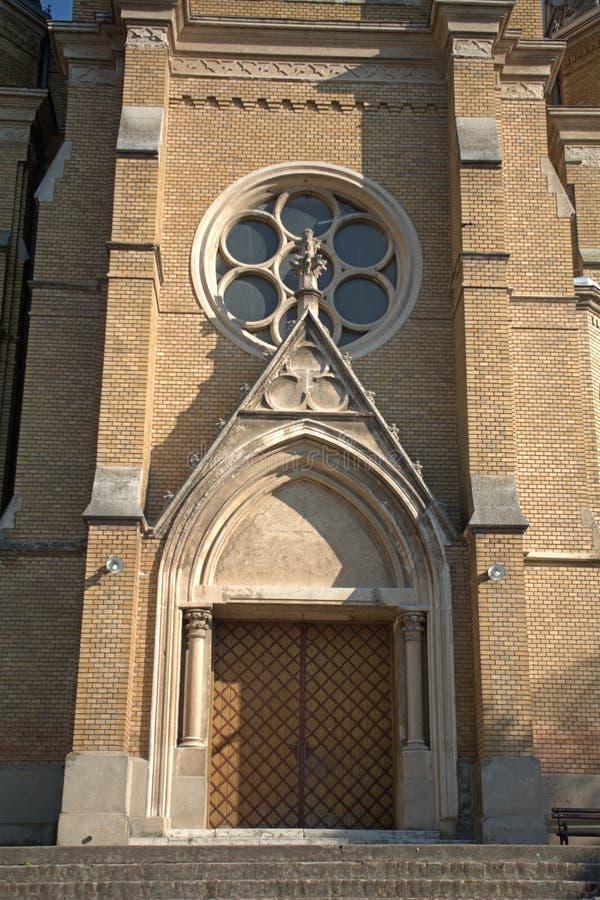 天主教堂, Backa托波拉,塞尔维亚 免版税库存图片