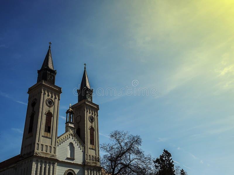 天主教教会 免版税库存照片