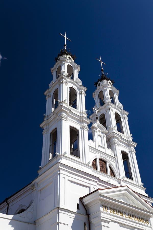 天主教白俄罗斯 库存照片