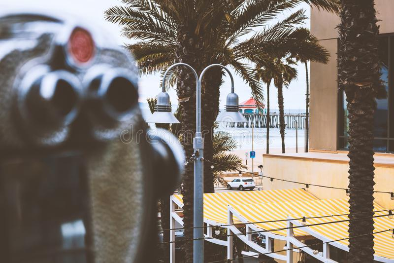 太平洋城生活方式射击 免版税库存图片