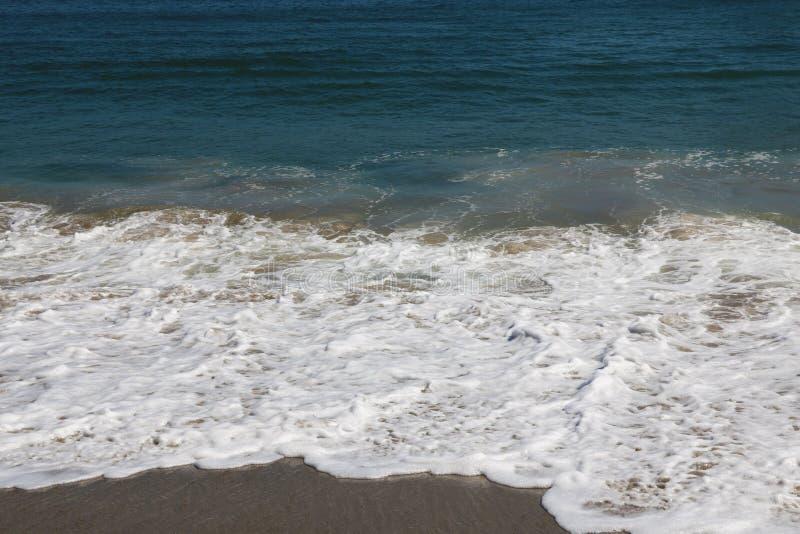 太平洋波浪,杂货店,加利福尼亚,美国 海洋 图库摄影