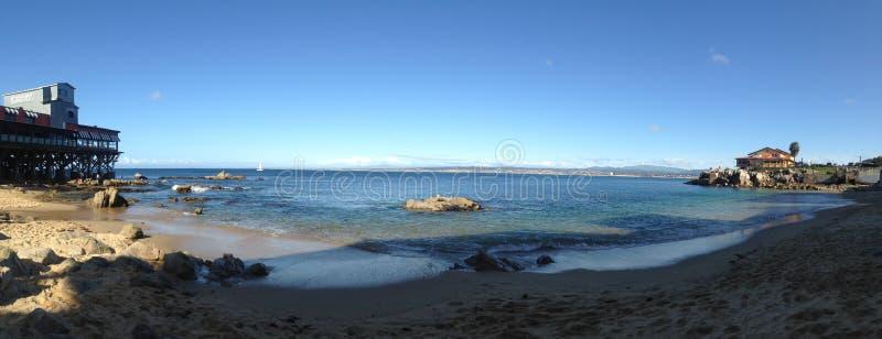 太平洋在中央加利福尼亚 免版税库存照片