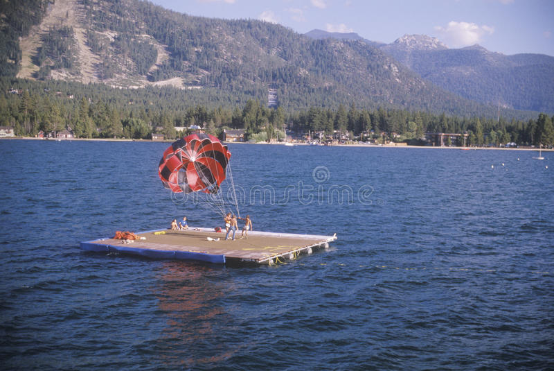 太浩湖的,加州飞将军 免版税库存照片