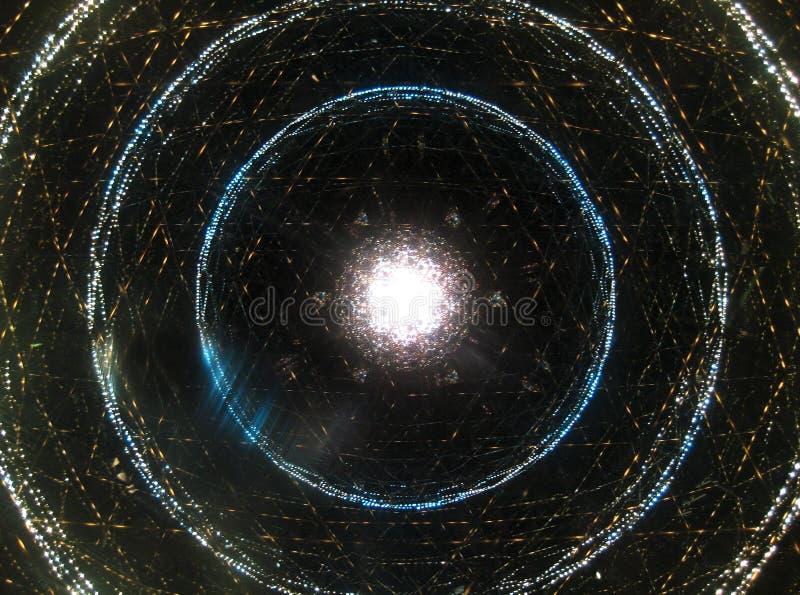 太空星群的催眠状态螺旋 皇族释放例证