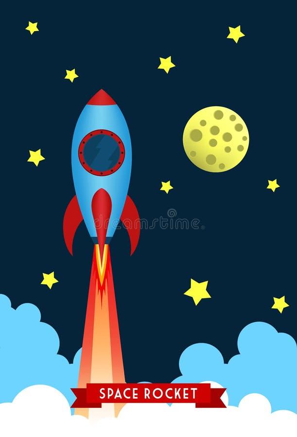 太空火箭发射 图库摄影