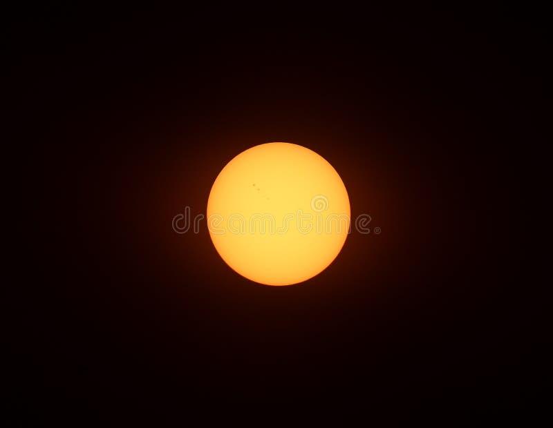 太阳中心 免版税库存照片