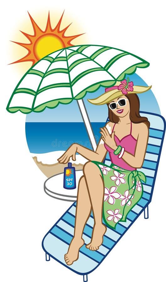 太阳保护 库存图片
