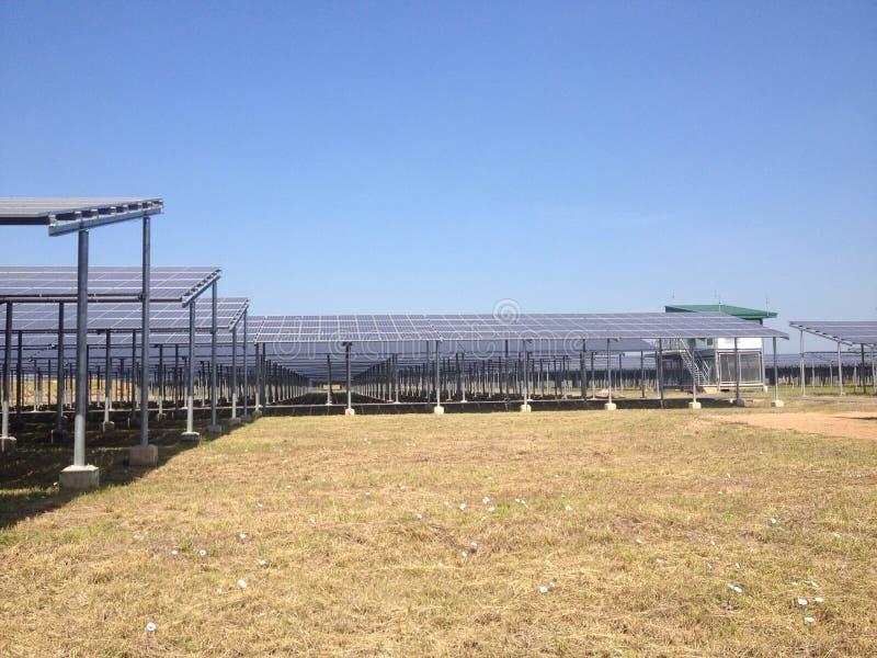 太阳农场 库存图片