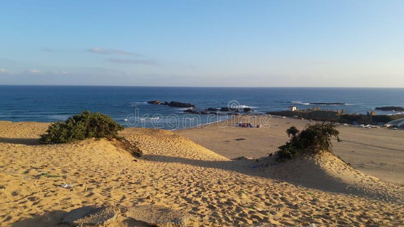 太阳和海滩 免版税库存图片