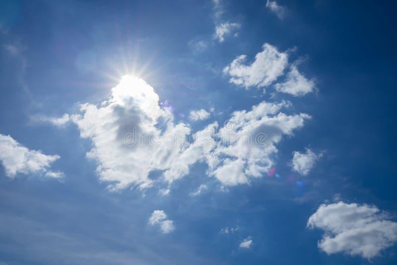太阳在白天 免版税库存图片