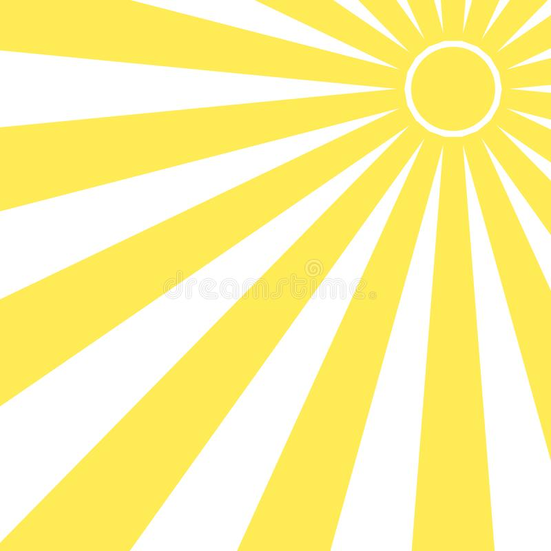太阳射线光芒镶有钻石的旭日形首饰的样式背景夏天 亮光夏天样式 向量 向量例证