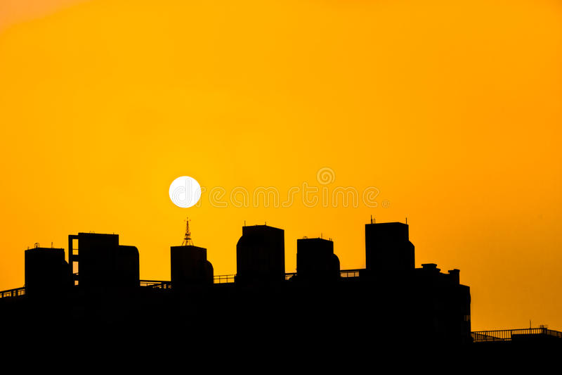 太阳收费系统 图库摄影