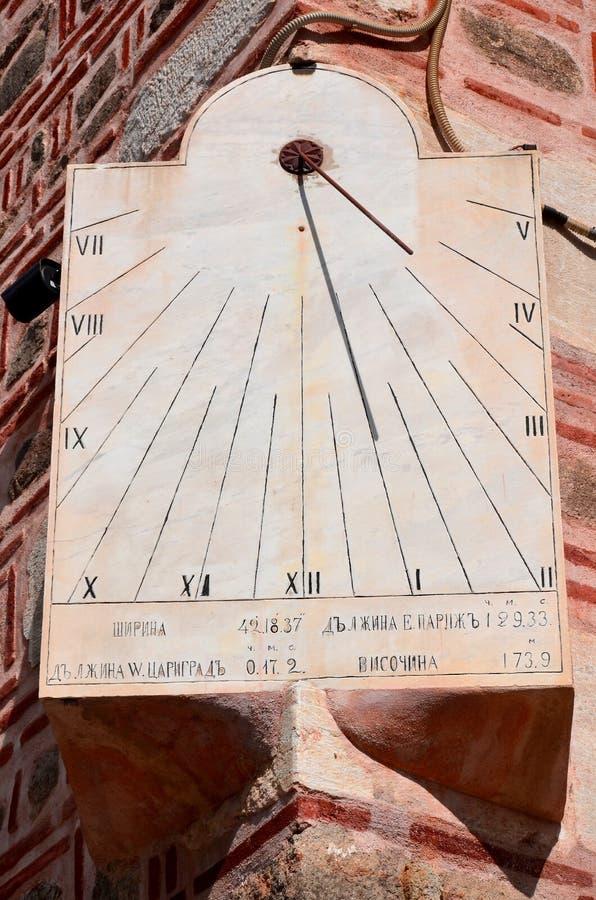 太阳时钟 免版税库存照片
