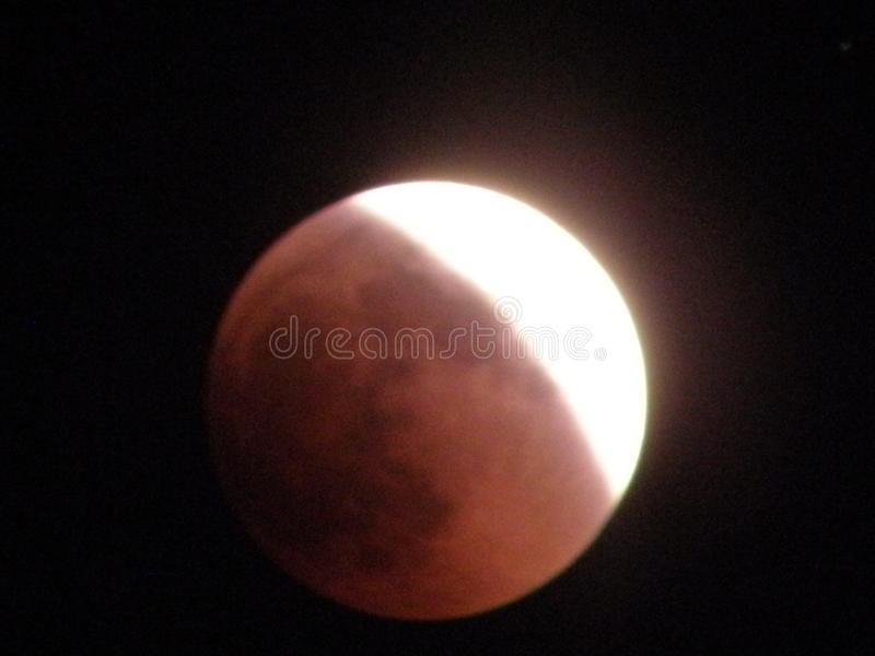 太阳月光 免版税库存照片