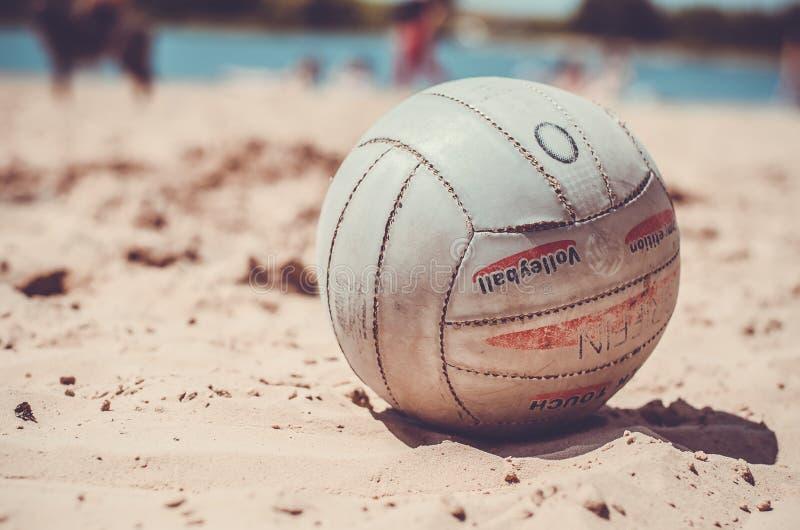 太阳海滩球照片照片 免版税库存照片