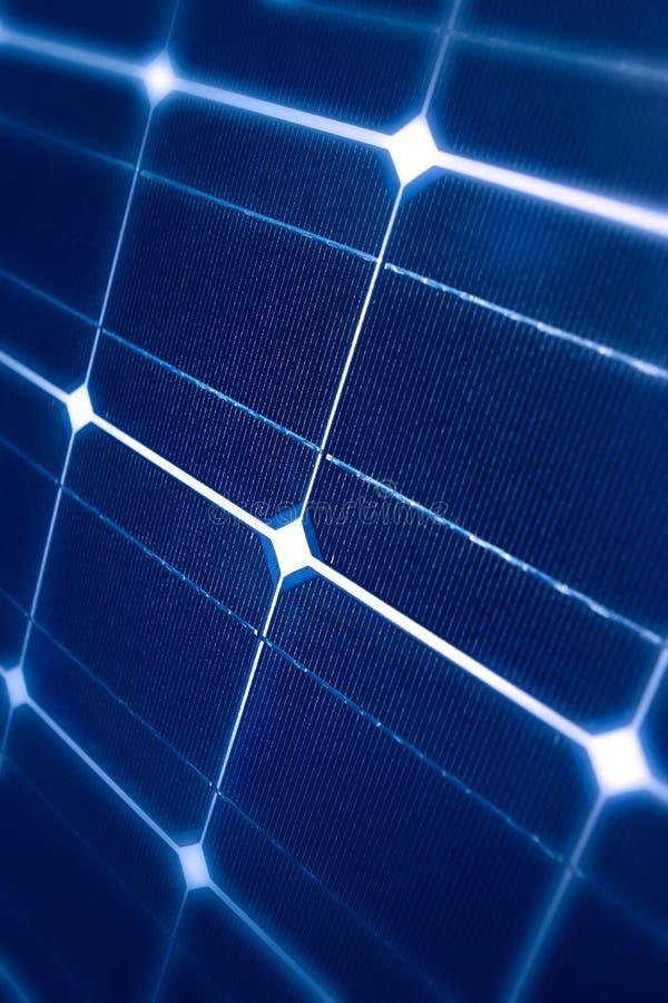 太阳现代的面板 免版税库存照片
