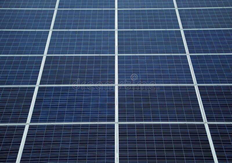太阳电池板细节  库存照片