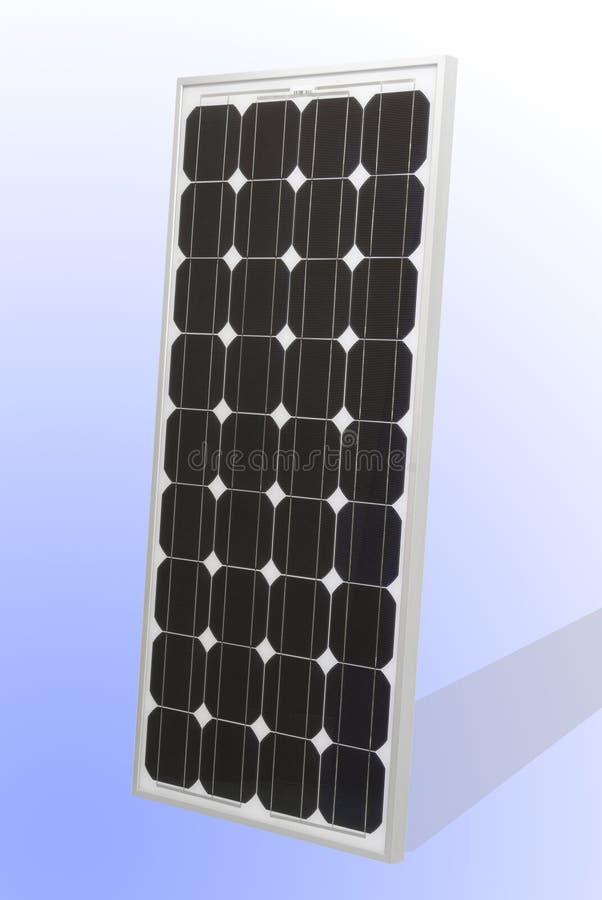太阳电池的面板 免版税库存照片