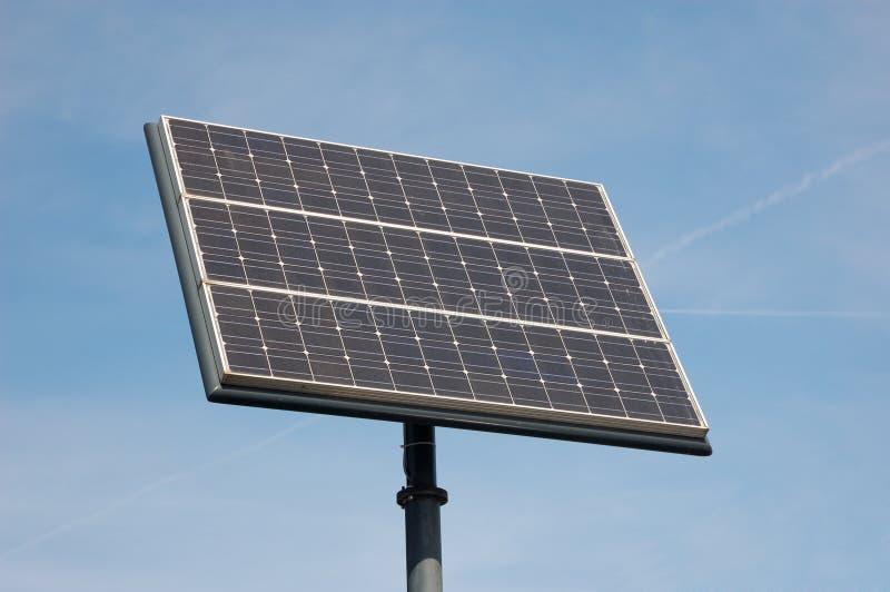 太阳电池的面板 免版税图库摄影
