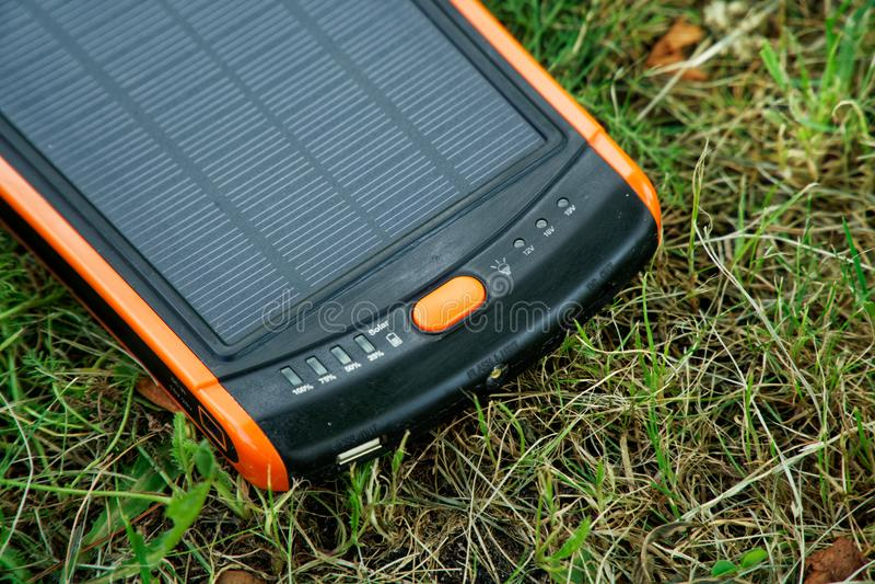 太阳电能发电器纯净的能量,企业概念 库存图片