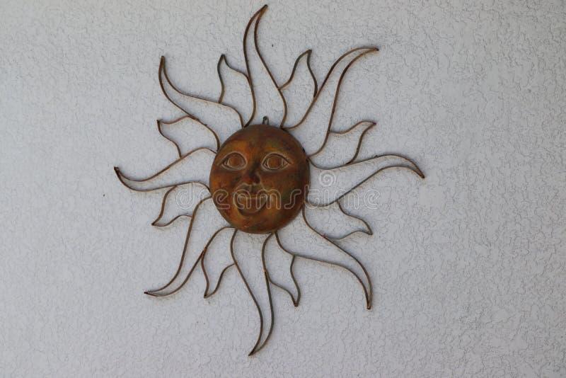 太阳的女神 免版税库存照片