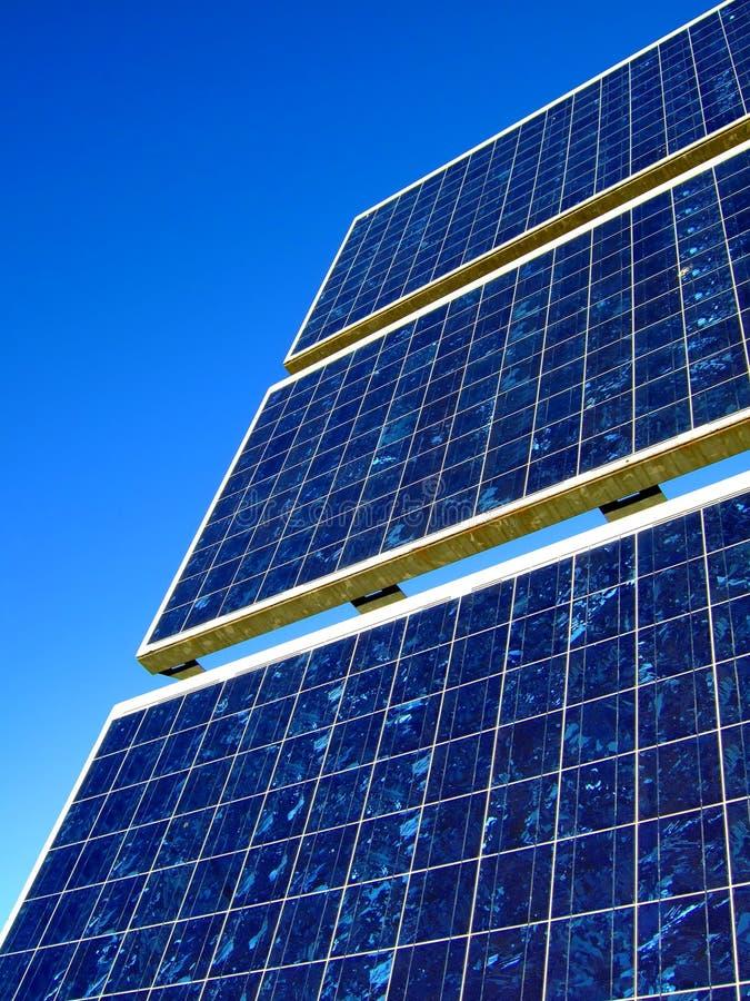 太阳的电池 免版税库存照片