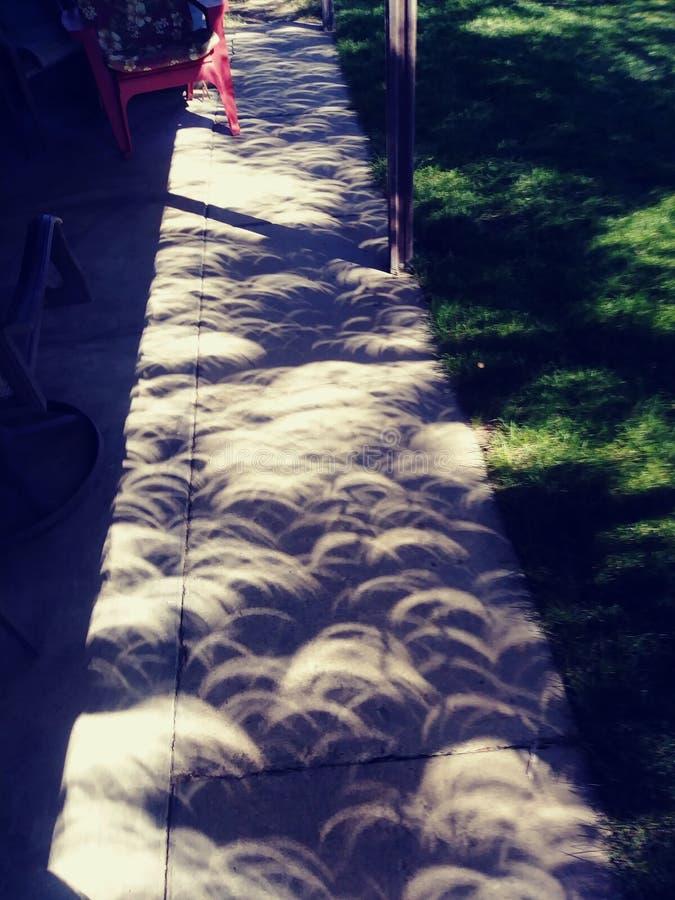 太阳的蚀 免版税库存图片