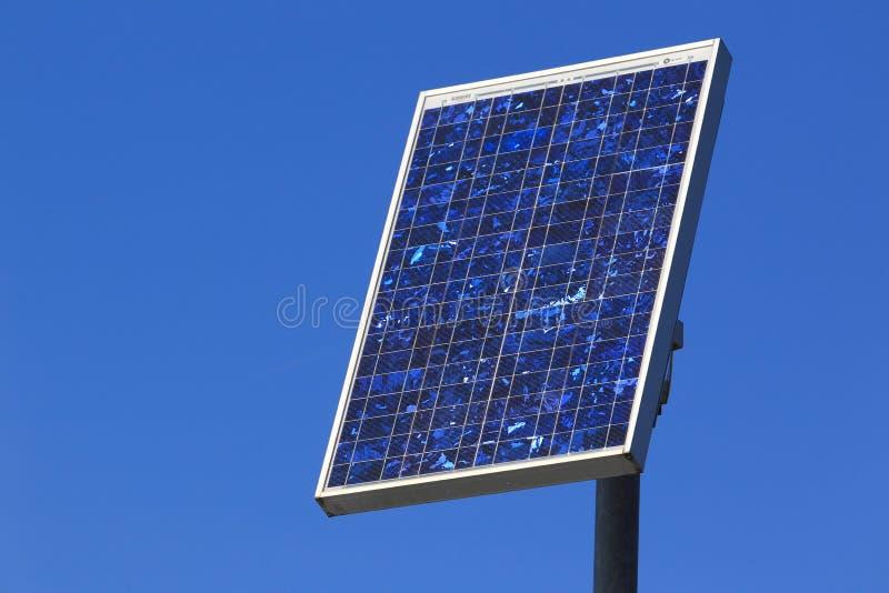 太阳的面板 免版税库存照片