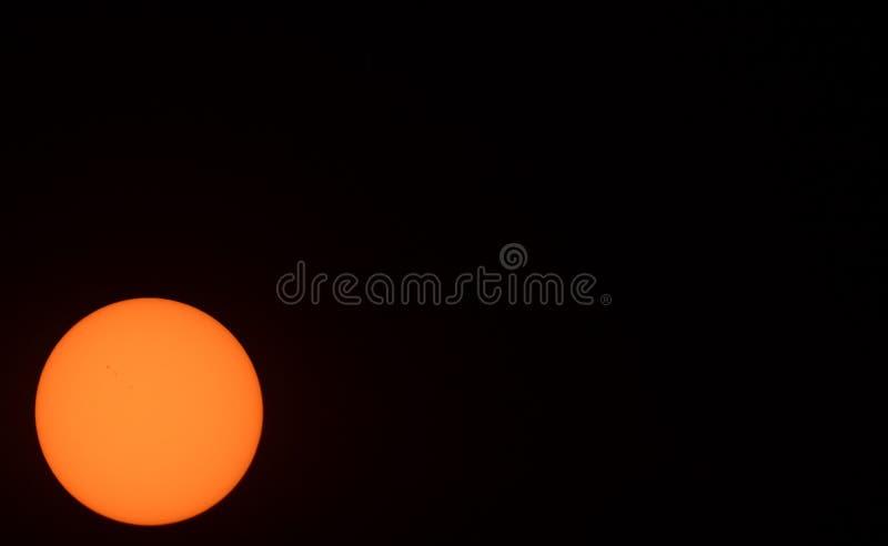 太阳离开 库存图片