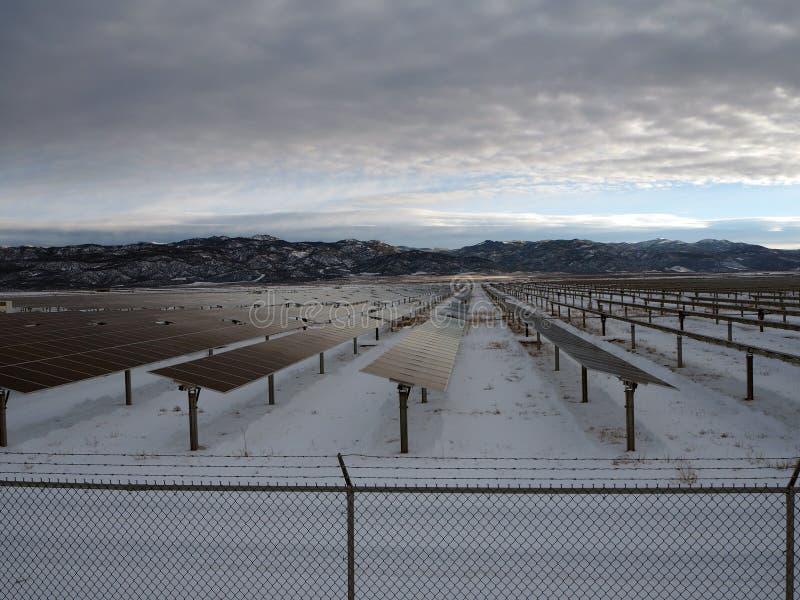 太阳能产业 库存照片