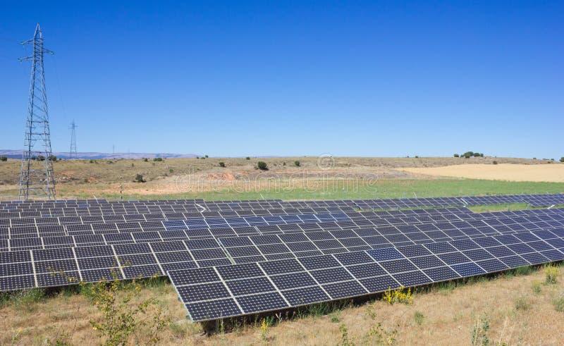 太阳能岗位 库存图片