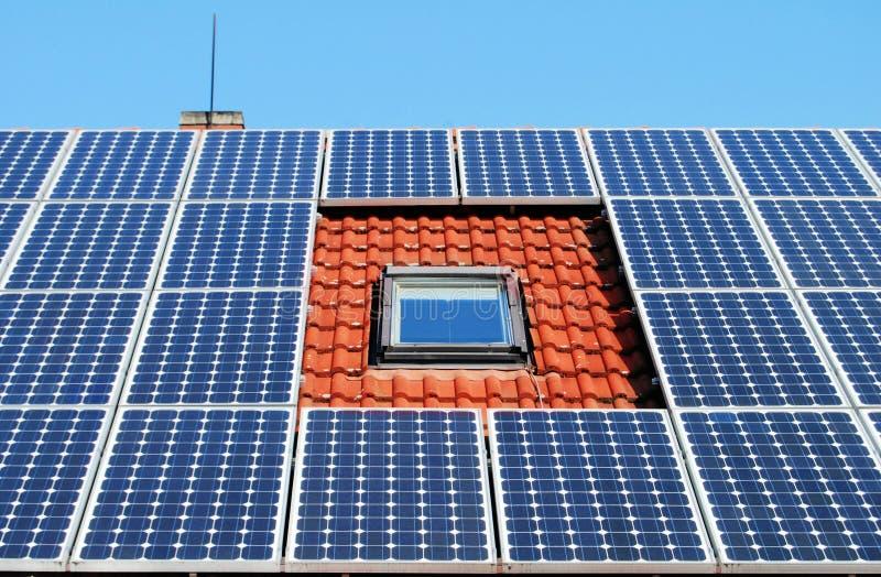 太阳能源的面板 免版税库存图片