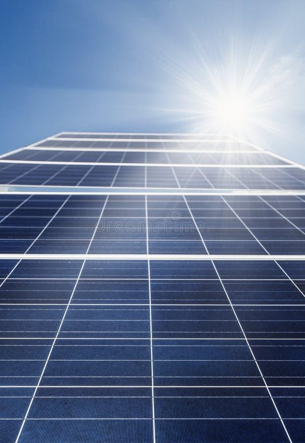 太阳能电池力量能量 免版税库存图片