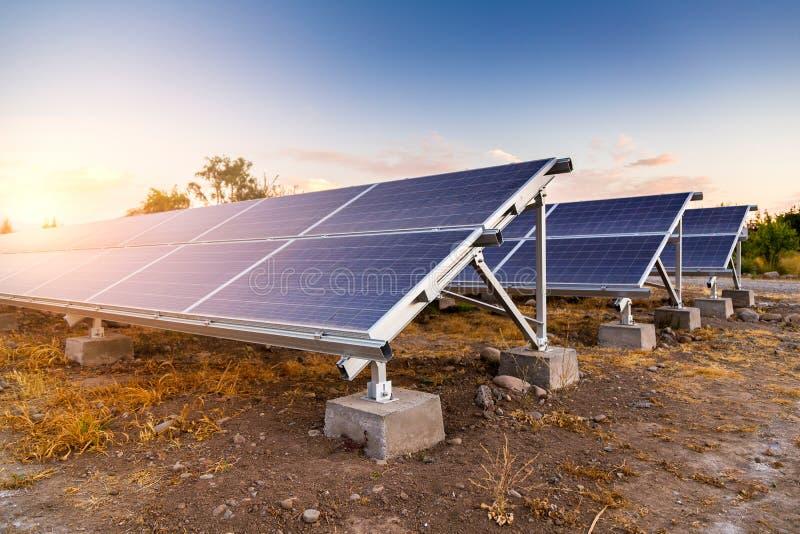 太阳能电池板 替代能源 光伏 免版税图库摄影