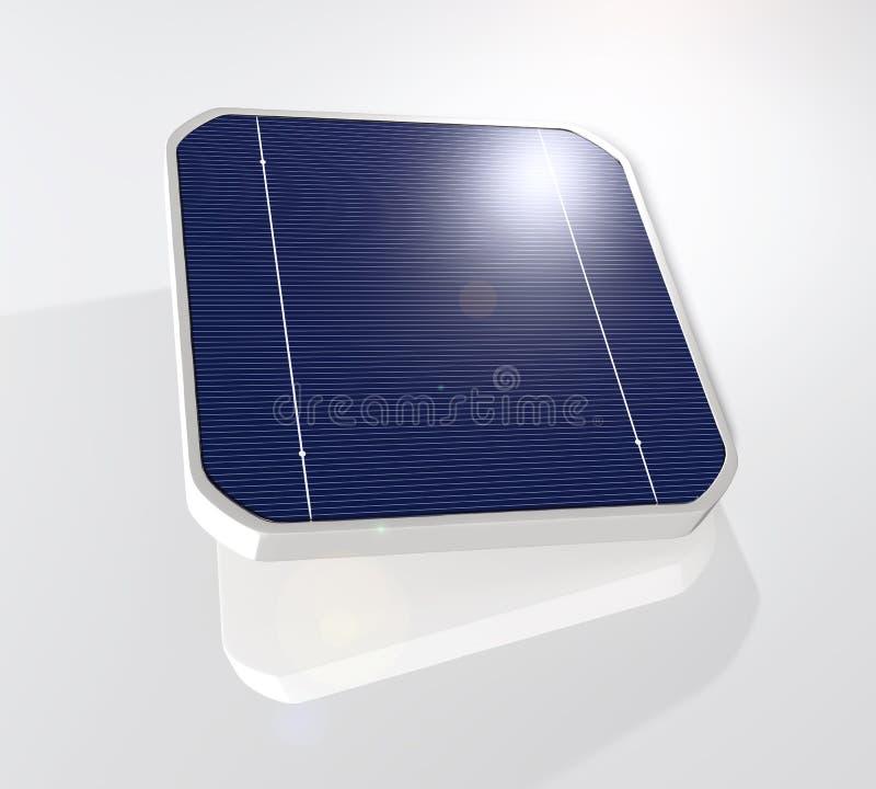 太阳能电池 向量例证