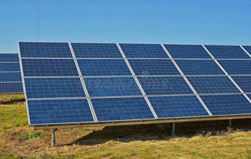 太阳能集热器 免版税图库摄影